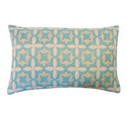 Aqua Cotton Pillow
