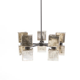 AVA LARGE CHANDELIER-AGED META