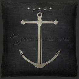 Anchor 4 Pillow