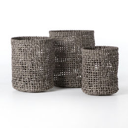 WOVEN BASKETS (SET OF 3)
