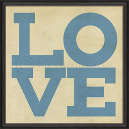 BC LOVE Posters in blue