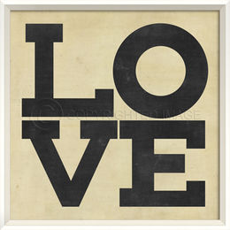 Love Posters black and white