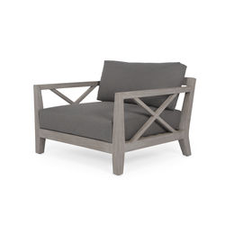 Huntington Outdoor Chair-Grey