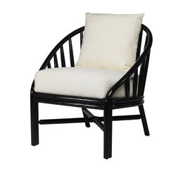Carousel Lounge Chair - Black Caviar