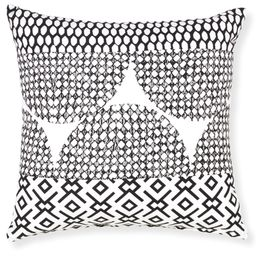 Rapee Zulu Black Cushion 20x20