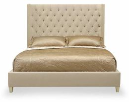 Sexton Upholstered Panel Bed