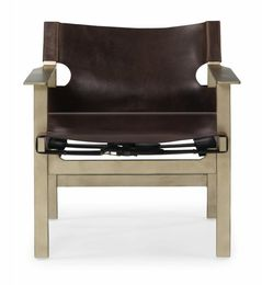 Steamboat Chair/ Leather