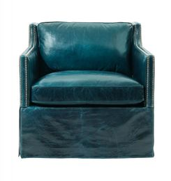 Delphi Swivel Chair/ Leather
