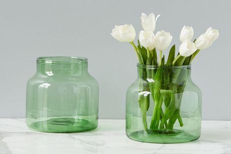 Green Flower Vase Scout Nimble