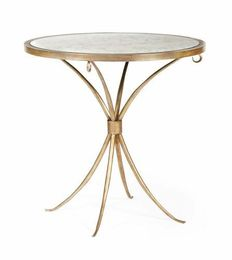 Marquette Round Chairside Table