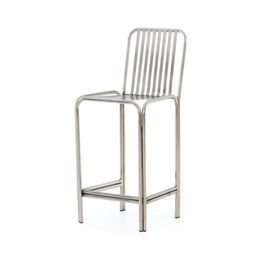 Cade Counter Stool-Pewter