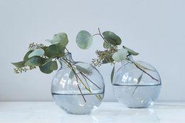 Glb102lf8 etuhome sphere glass vase 5 inch smoke 1