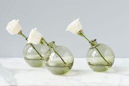 2 glb102lg9 sphere vase 5 olive green
