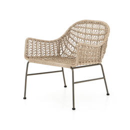 Bandera Outdoor Woven Club Chair-Vintage