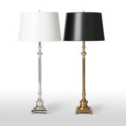 Thin Buffet Lamp Antique Brass