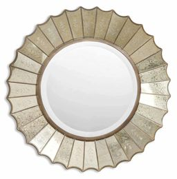 Amberlyn Sunburst Gold Mirror