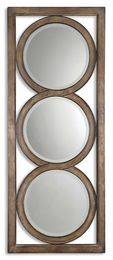 Isandro Metal Silver Mirror
