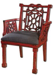 Camdon Red Armchair