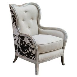 Uttermost Chalina High Back Armchair