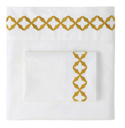 Avery Caramel Sheets & Pillow Cases