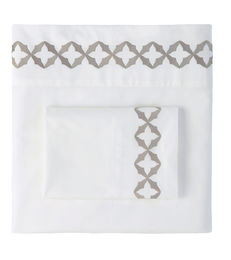 Avery Pewter Sheets & Pillow Cases