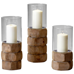Medium Hex Nut Candleholder