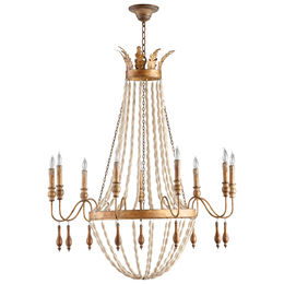 Alexandra Nine Light Chandelier