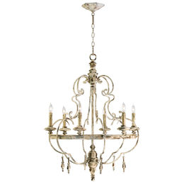 Davinci Six Light Chandelier