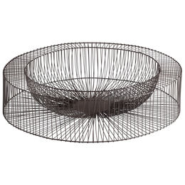 Large Wire Wheel Tray