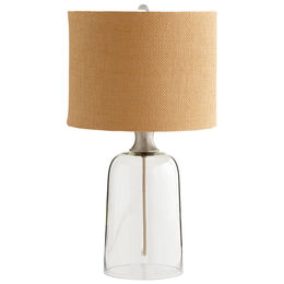 Glass House Table Lamp