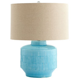 Aqua Glow Table Lamp