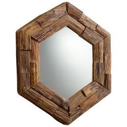 Hexagon Frontier Mirror
