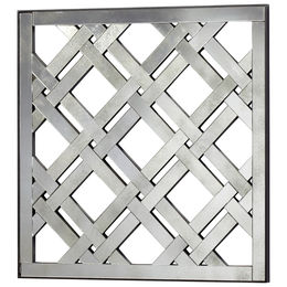Square Mirrored Wall Decoration