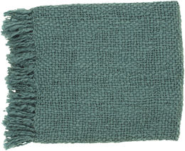 Teal Throw