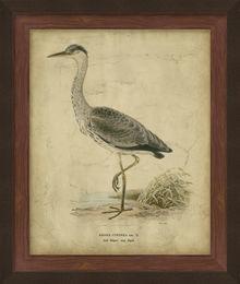 Embellished Vintage Heron II