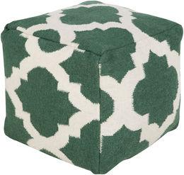 Evergreen Pouf