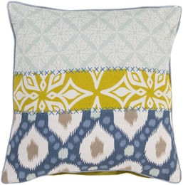 Misty Blue Pillow