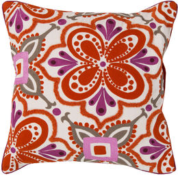Fuchsia Red Pillow