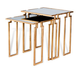 Stinson Nesting Tables - Gold