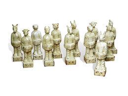 Ming Zodiac Figurines