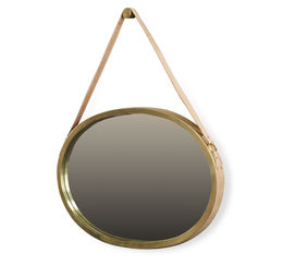 Emirate Mirror - Antique Brass