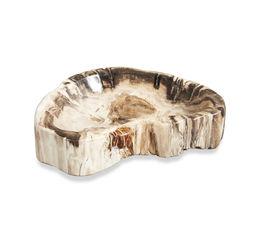 Mataram Petrified Wood Bowl, Medium