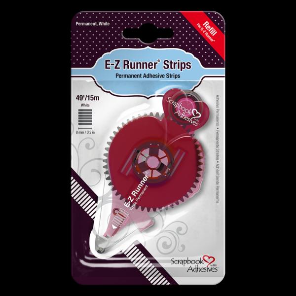 E-Z Runner® Permanent Strips - Refill