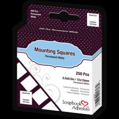 Mounting Squares  - 250 White