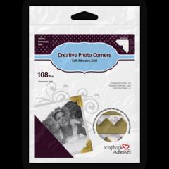 Creative Photo Corners - Gold