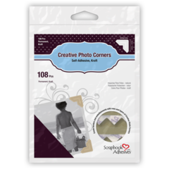 Creative Photo Corners - Kraft