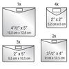 Web keepsake envelopes qty