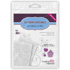 3D Foam Cupcakes