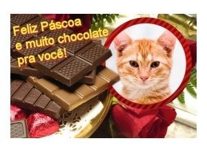 Moldura - Pascoa E Chocolate