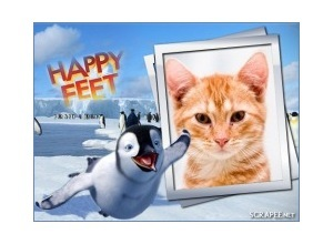 Photo FrameHappy Feet